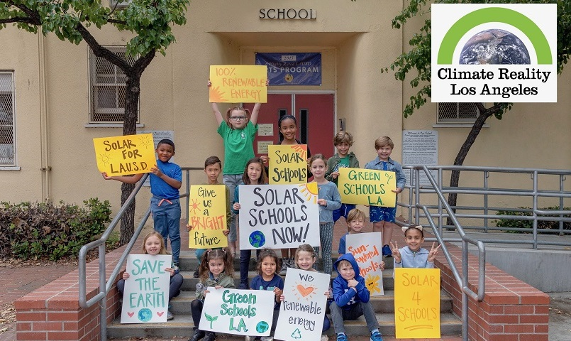 Commit Los Angeles Unified School District to 100% Clean, Renewable Energy! — AddUp.org