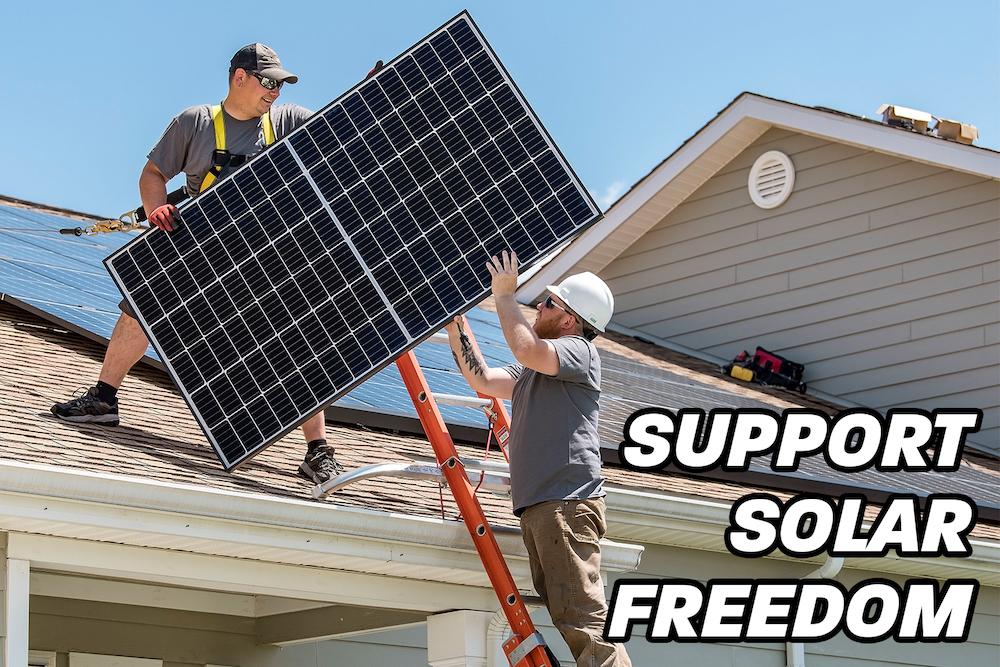 Tell Virginia Legislators: Support the Solar Freedom Bill! — AddUp.org
